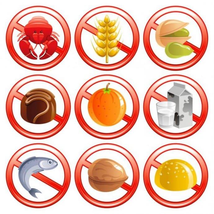 Продукты запрещенные при аллергии