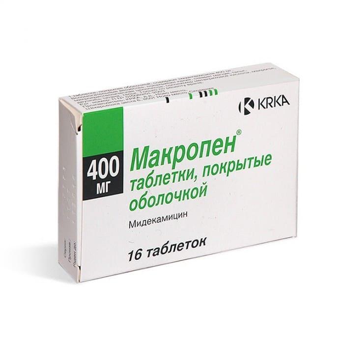 таблетки Макропен